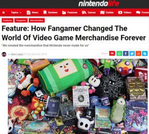Nintendo Life Article