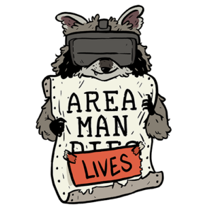 AREA MAN LIVES Logo